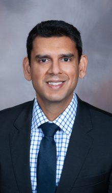 A picture of Dr. Siddiqui.