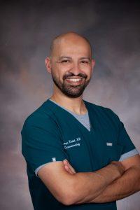 A photo of Dr. Hamza Khalid.